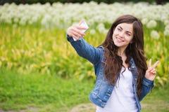 Selfie Стоковые Изображения