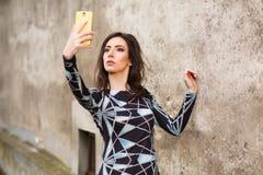 Selfie Fotografie Stock