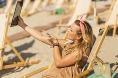 Selfie Lizenzfreies Stockbild