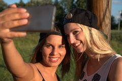 Selfie Royaltyfri Fotografi
