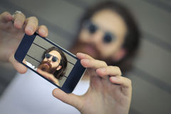 Selfie fotografia stock libera da diritti