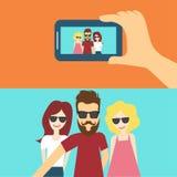 Selfie бесплатная иллюстрация