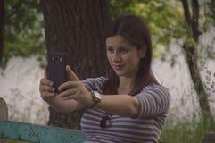 Selfie Стоковая Фотография
