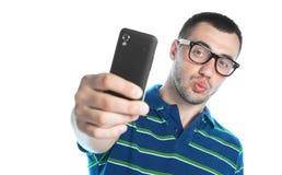 Selfie Image stock