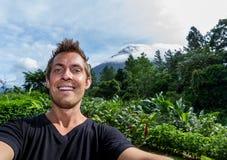Selfie Arenal, Κόστα Ρίκα Στοκ φωτογραφία με δικαίωμα ελεύθερης χρήσης