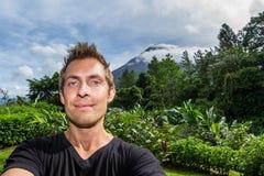 Selfie Arenal, Κόστα Ρίκα Στοκ φωτογραφίες με δικαίωμα ελεύθερης χρήσης