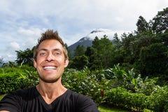 Selfie Arenal, Κόστα Ρίκα Στοκ εικόνα με δικαίωμα ελεύθερης χρήσης