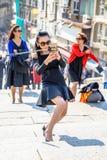 Selfie asiatico della donna Immagini Stock Libere da Diritti