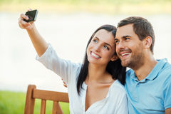 Selfie! Royalty Free Stock Photography