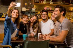 Selfie czas obraz royalty free