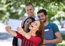 Selfie d'étudiants Photo libre de droits