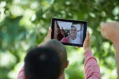 Selfie d'étudiants Photos libres de droits