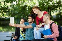 Selfie d'étudiants Images stock