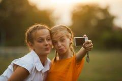 Selfie d'amis Photographie stock libre de droits