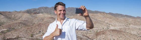 Selfie d'autoportrait Photos libres de droits