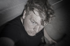 Selfie da rocha da garagem Fotos de Stock