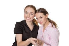 Selfie de femme d'affaires Image stock