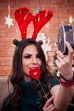 Selfie de Irvas! Fotografia de Stock Royalty Free