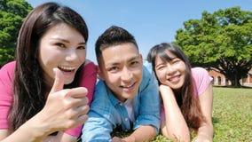 Selfie de la gente joven Imagen de archivo