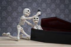 Selfie de la mort Photo libre de droits