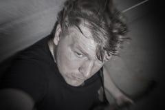 Selfie de la roca del garaje Fotos de archivo
