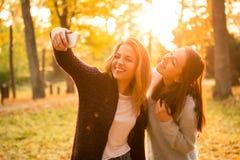 Selfie de los amigos Fotos de archivo