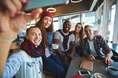 Selfie degli anni dell'adolescenza Fotografie Stock Libere da Diritti