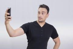 selfie del hombre Imagen de archivo libre de regalías
