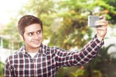 selfie del hombre Imágenes de archivo libres de regalías