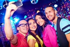 Selfie des amis Images libres de droits