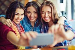 Selfie des filles Photo stock