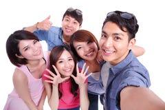 Selfie ensemble Photo stock