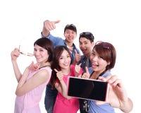 Selfie ensemble Photographie stock libre de droits