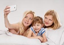 Selfie ensemble Images stock