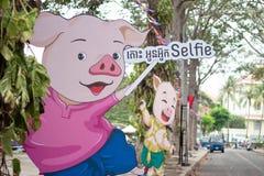 Selfie imagem de stock