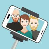 Selfie-Foto Stockfotos
