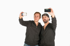 Selfie fun Royalty Free Stock Photo