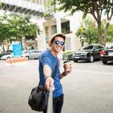 Selfie gai Photo stock