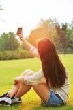 Selfie girls Royalty Free Stock Image