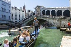 Selfie on gondola Royalty Free Stock Photography