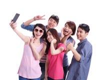 Selfie junto Imagen de archivo