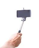 Selfie monopod Στοκ Φωτογραφίες