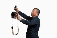 Selfie multiplo Fotografia Stock