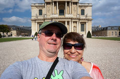 Selfie at Napoleon's Tomb Stock Photography