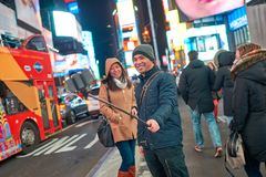 Selfie in New-York Stock Photos