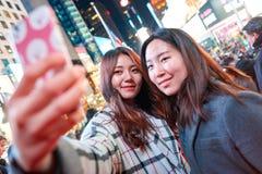 Selfie in New-York stock image