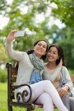 Selfie parfait Photographie stock