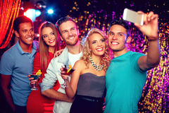 Selfie at party Stock Image