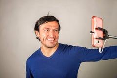 Selfie passion Stock Photo
