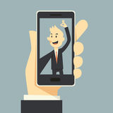 Selfie-phot Stockfoto